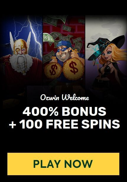 Ozwin Casino Welcome Offer