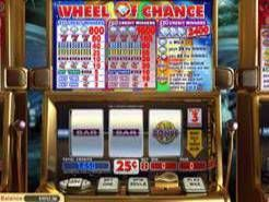 Wheel of Chance 3 Reel Slots